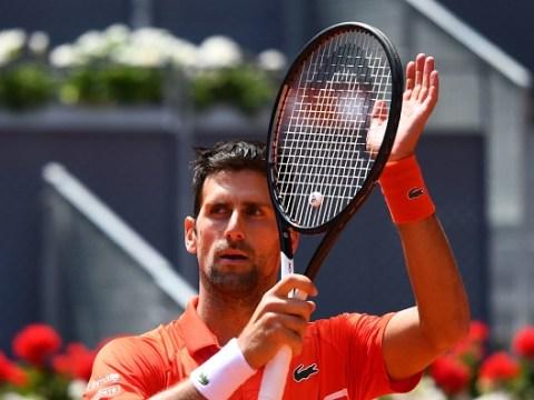 Novak Djokovic awaits Roger Federer or Dominic Thiem as Marin Cilic withdraws with illness