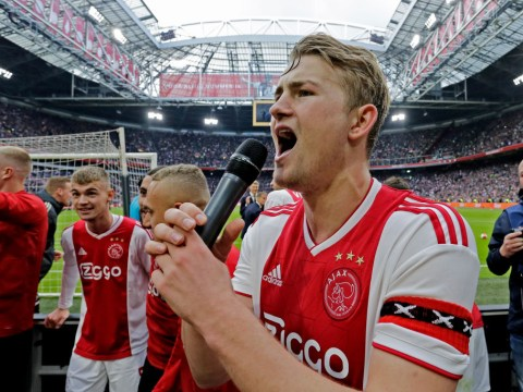 Manchester United trying to trump Barcelona with lucrative offer for Ajax star Matthijs de Ligt
