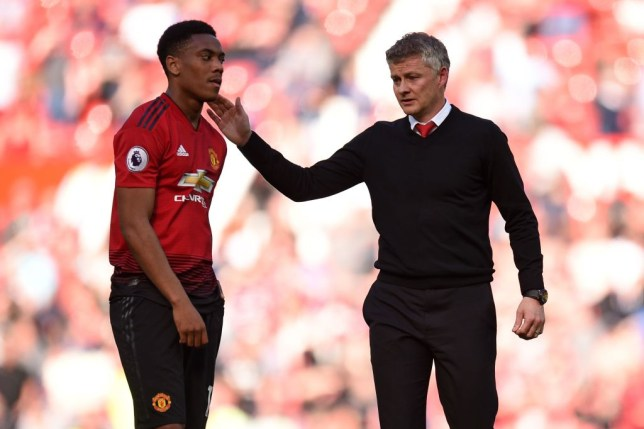 Anthony Martial has angered Ole Gunnar Solskjaer with his attitutde in training