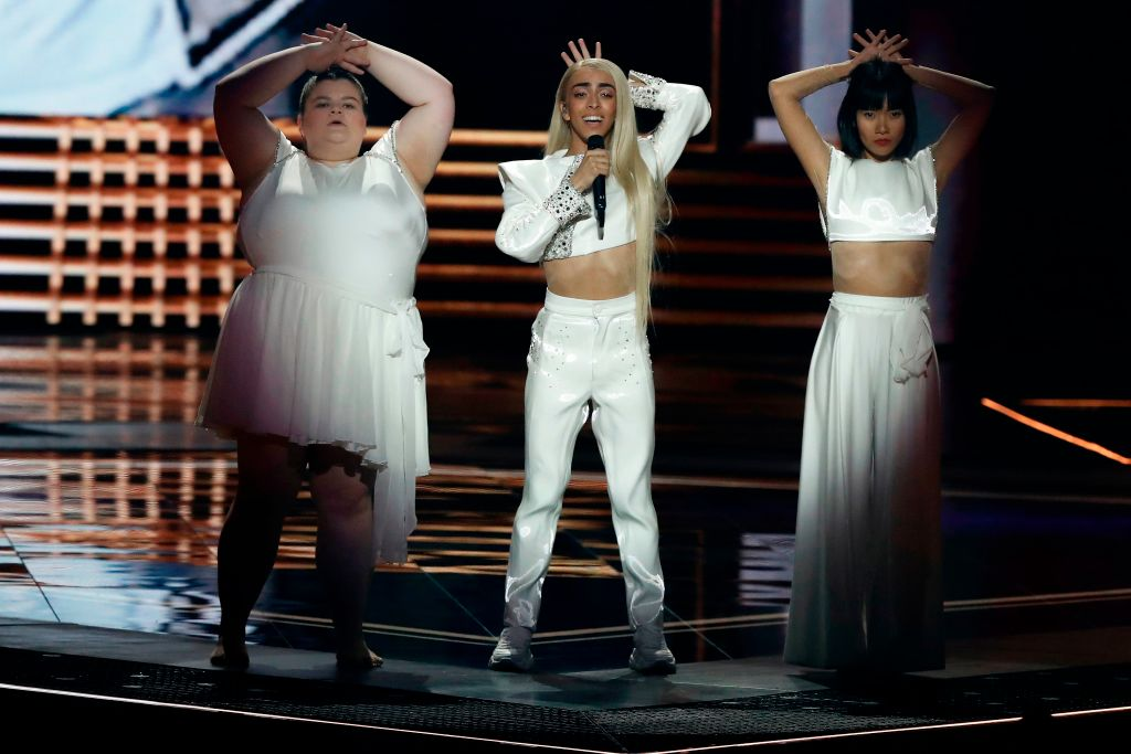 Plus-size ballerina and deaf dancer join Bilal Hassani on stage at Eurovision