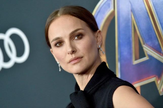 Natalie Portman attends Avengers: Endgame premiere in Los Angeles