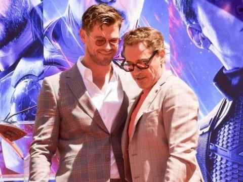 Robert Downey Jr impressed with Chris Hemsworth going 'bonkers' in Avengers: Endgame