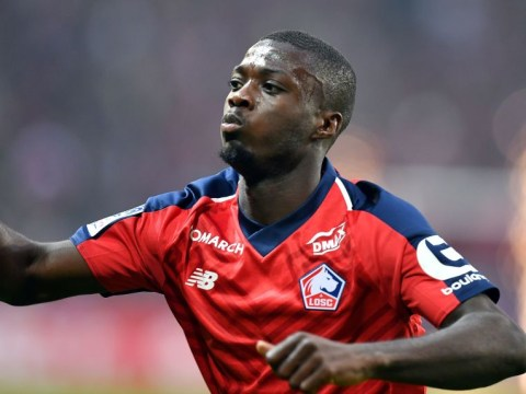 Lille confirm Manchester United and Arsenal target Nicolas Pepe will move this summer