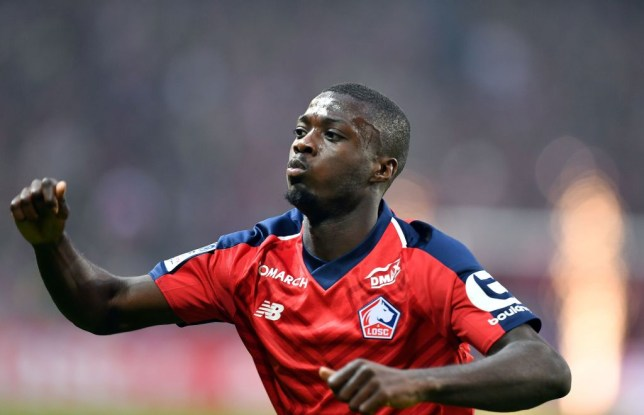 Man Utd and Arsenal given green light to sign Nicolas Pepe