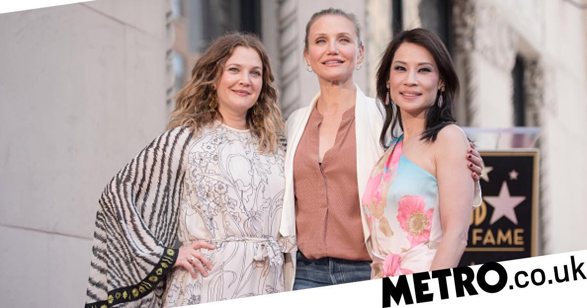 Cameron Diaz Drew Barrymore And Lucy Liu Reunite Charlie S Angels Metro News
