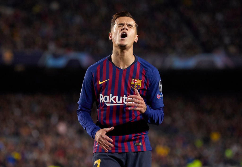 Barcelona are looking to sell Philippe Coutinho this summer