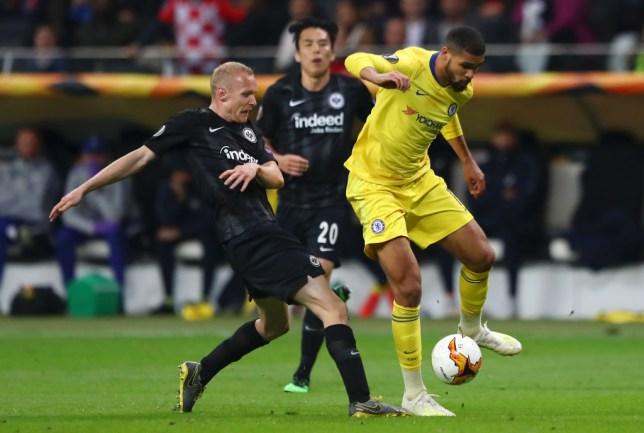 Ruben Loftus-Cheek impressed as Chelsea drew to Eintracht Frankfurt