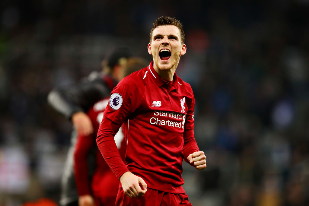 Liverpool's Andy Robertson issues warning to Manchester City over next season's Premier League title race