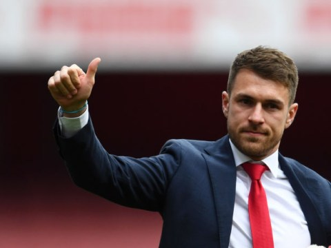 Aaron Ramsey sends message to Arsenal squad ahead of Europa League final against Chelsea