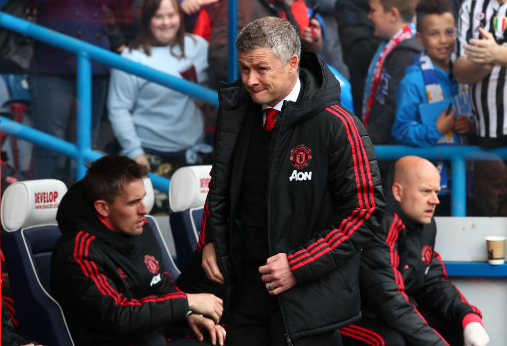 Ole Gunnar Solskjaer laughs off question about his Manchester United future
