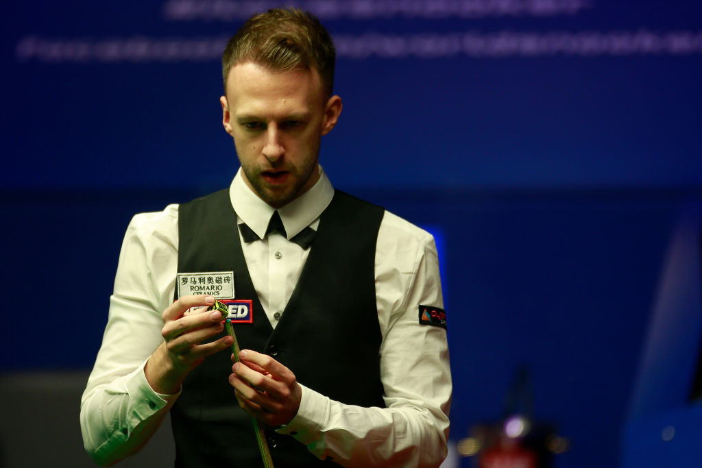 Judd Trump battled 'too cold' Crucible and tape falling on table during magical Snooker World Championship final display