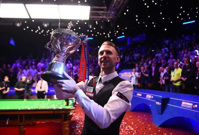 Judd Trump wins the Snooker World Championship