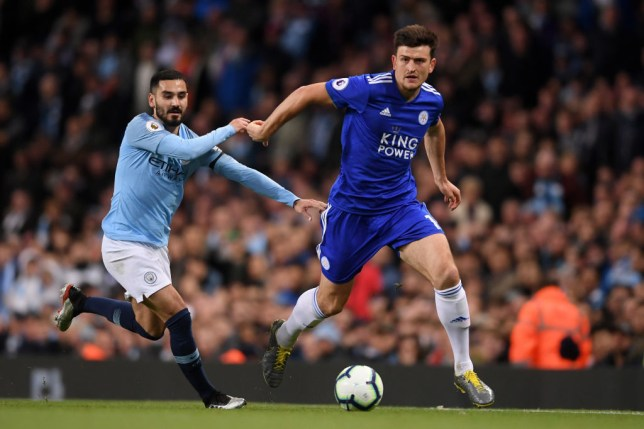 Leicester City want in excess of £90m for Harry Maguire