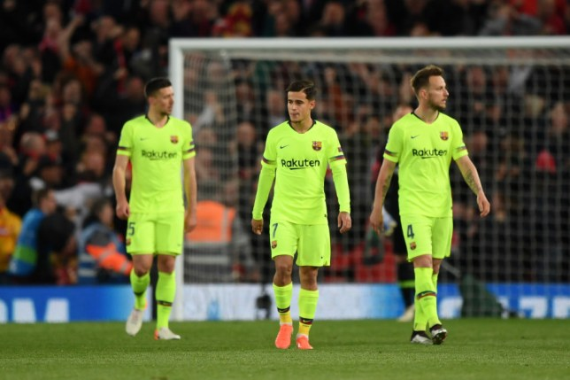 Philippe Coutinho was part of the Barcelona team that collapsed against Liverpool