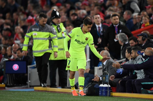 Philippe Coutinho has been a major disappointment for Barcelona since his record transfer from Liverpool 18 months ago