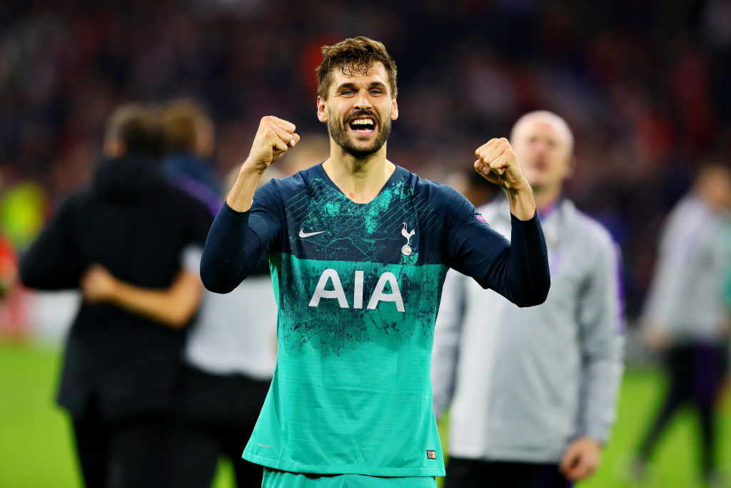 Fernando Llorente set to leave Tottenham on a free transfer at the end of the season