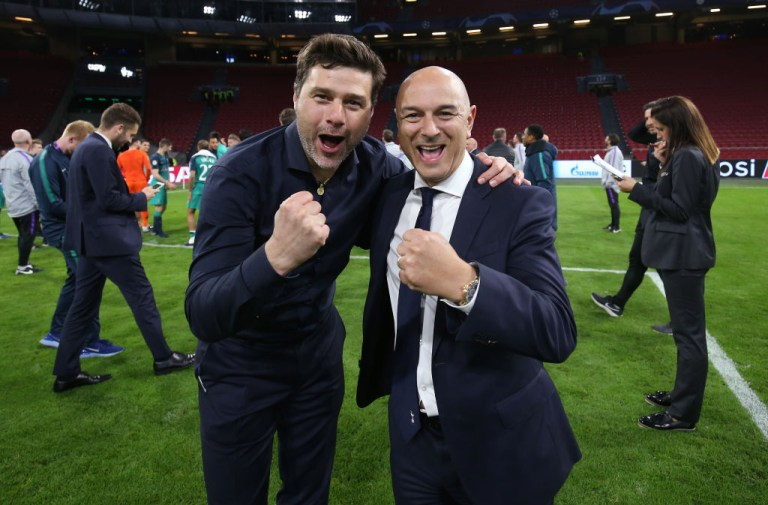 Mauricio Pochettino has exceeded Daniel Levy's expectations at Spurs