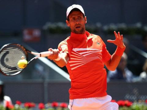Novak Djokovic kicks off increasingly rare 'Big Three' day with assured victory over Jeremy Chardy