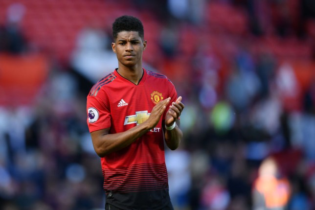 Marcus Rashford is a target for Manchester City