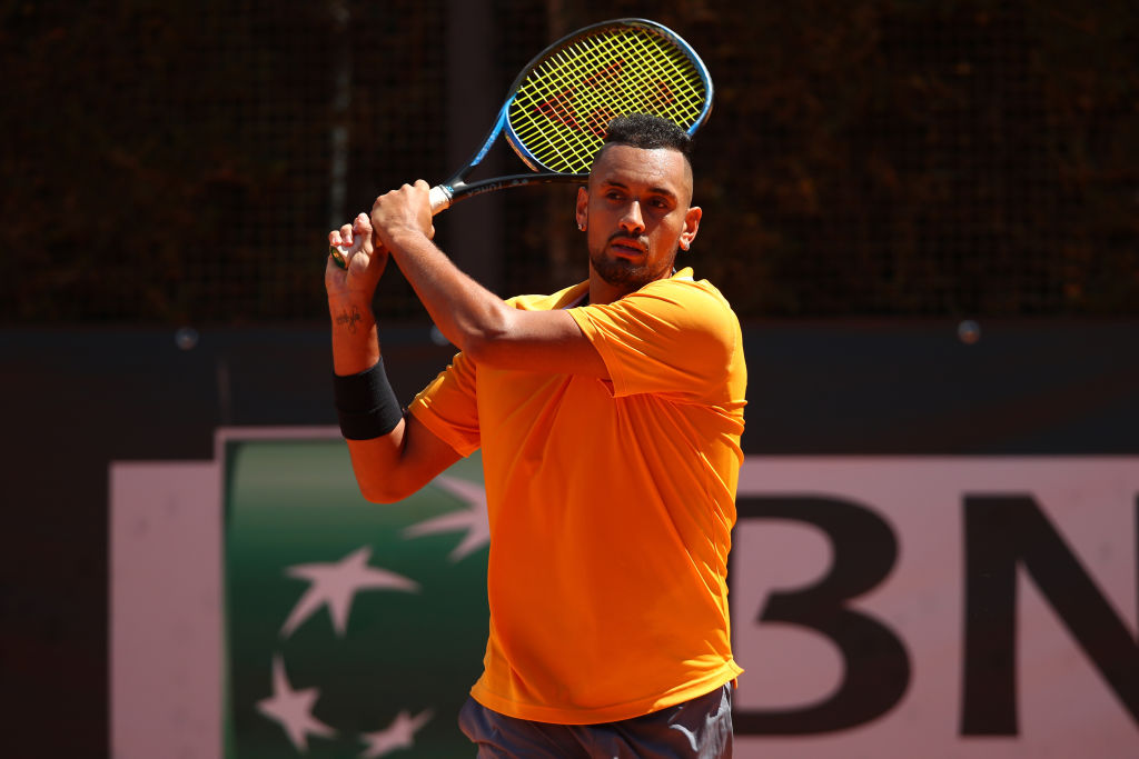 Nick Kyrgios apologises after launching chair onto court in Italian Open meltdown