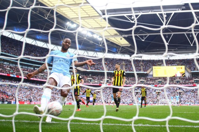 Raheem Sterling and Gabriel Jesus both score two goals apiece