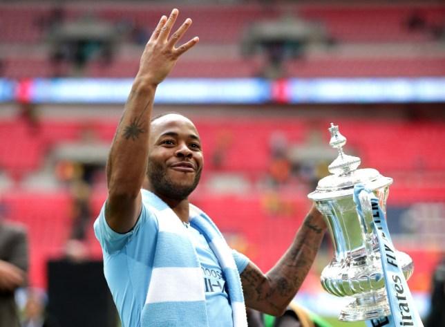 Raheem Sterling scored twice as Man City hammered Watford