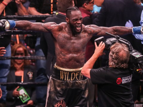 Deontay Wilder announces rematch with Luis Ortiz