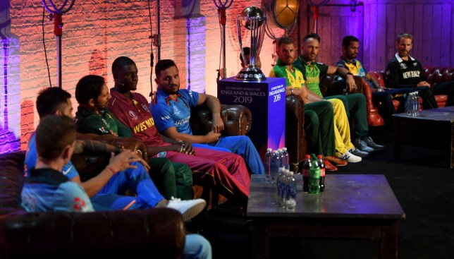 The Cricket World Cup captains speak at the media day