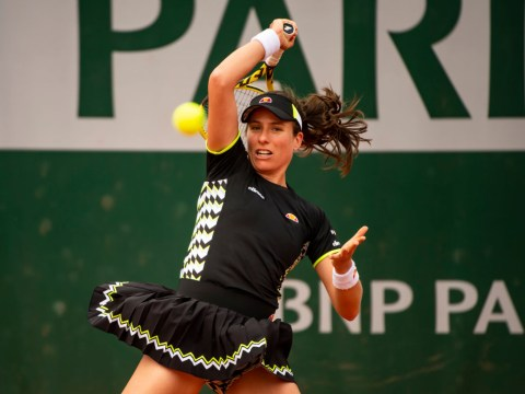 Johanna Konta storms into the French Open last-16 with quick sprint