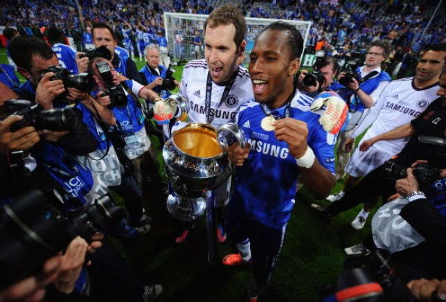 Petr Cech won the Champions League with Chelsea back in 2012