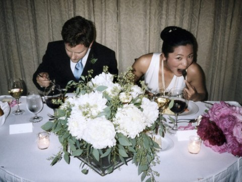 Bride is furious after sister-in-law ate her wedding dinner while she was in the loo