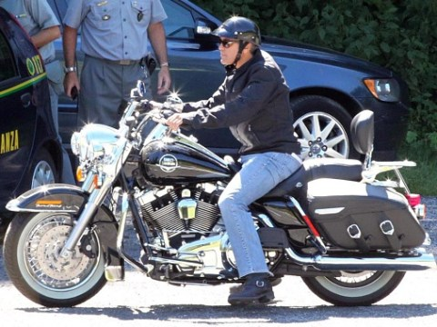 George Clooney 'used all nine of his lives' in near-fatal motorcycle accident that put him off riding for life