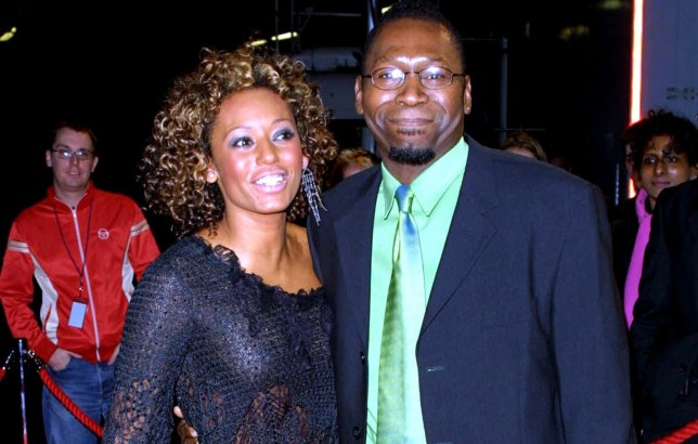 Mel B and father Martin