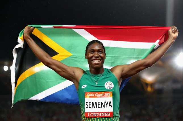 Caster Semenya is a two-time Olympic 800m champion