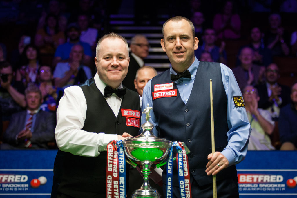 Most centuries ever in a Snooker World Championship final as Judd Trump and John Higgins break record