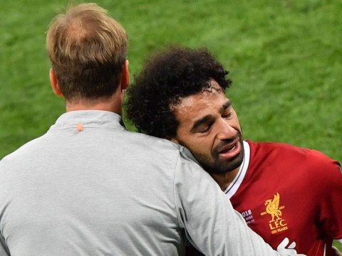 Jurgen Klopp explains how Liverpool would cope with a Mohamed Salah Champions League final injury repeat