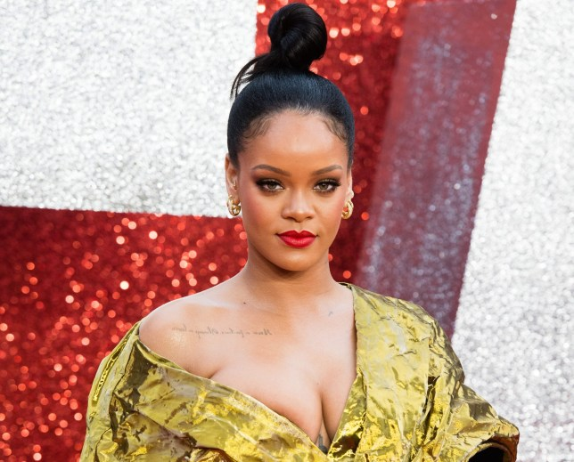 Rihanna at Ocean's 8 premiere