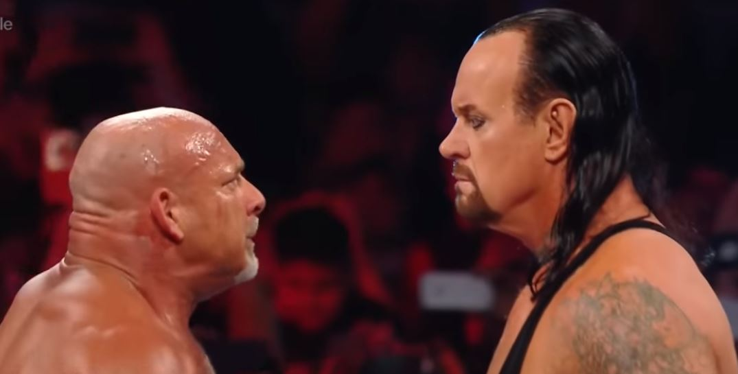 Goldberg and The Undertaker will finally face-off at WWE Super Showdown