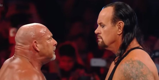 Goldberg and Undertaker