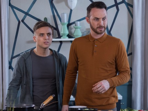 Hollyoaks spoilers: James Nightingale and Harry Thompson ripped apart by Harry's ex Sadie?
