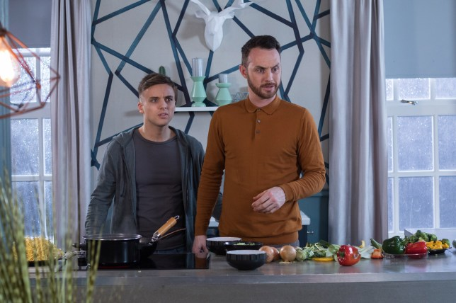 James and Harry face fresh trouble in Hollyoaks