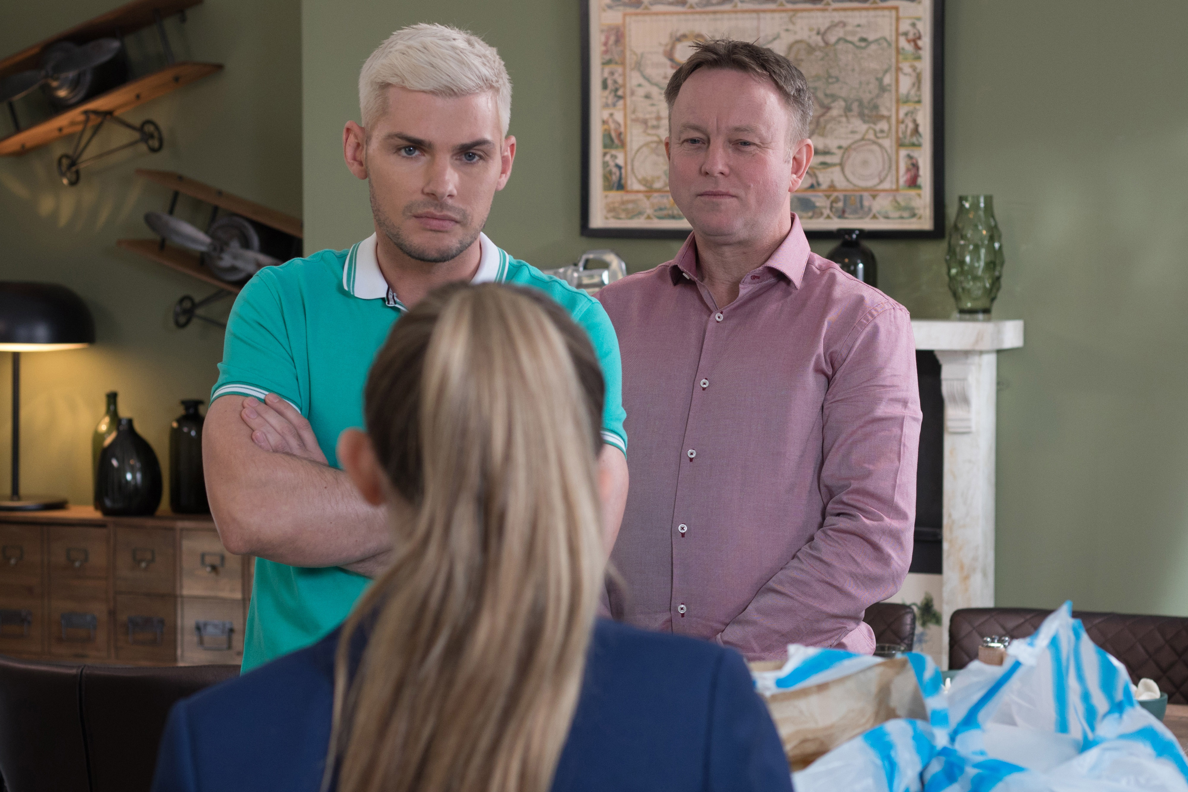 Hollyoaks spoilers: Leah is disgusted by Ste's racism as he joins far-right group