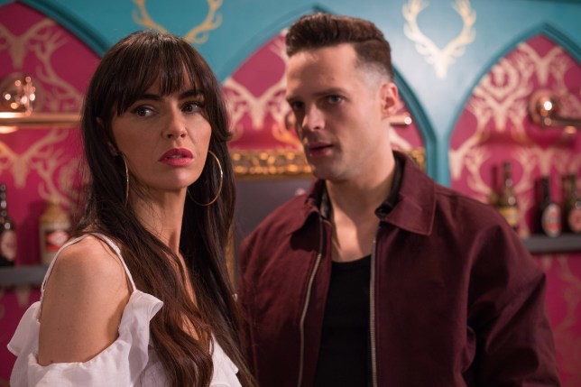 Mercedes is in danger in Hollyoaks