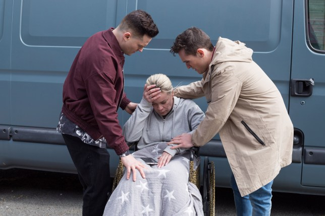 Harry Thompson and Grace in Hollyoaks