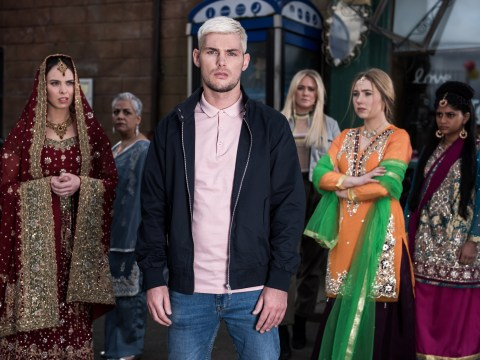 Hollyoaks spoilers: Chilling scenes revealed in racist far right storyline as Ste attacks the Maaliks