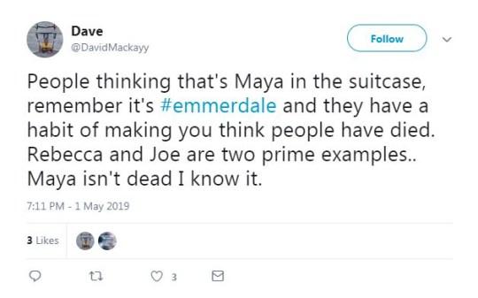 Emmerdale spoilers: Viewers spot Maya's dead body in shock twist