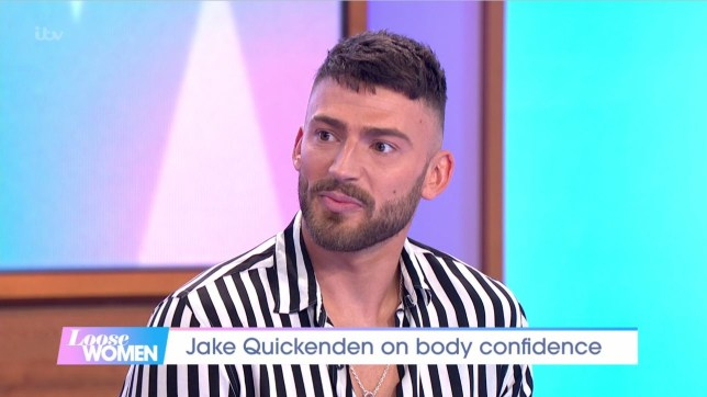 Jake Quickenden says posing naked in new show has helped him overcome anxiety