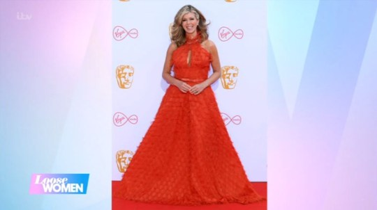 Kate Garraway at the Baftas