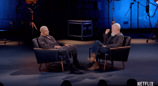 Kanye West on David Letterman's My Next Guest Needs No Introduction