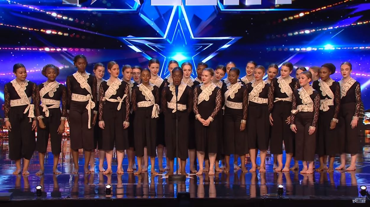 Britain's Got Talent's Khronos Girls explain hidden meaning behind semi-final performance